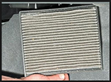 Как правильно снять салонный фильтр в Chevrole Lacetti